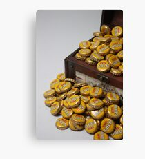 Teasure Chest of GOLD Canvas Print