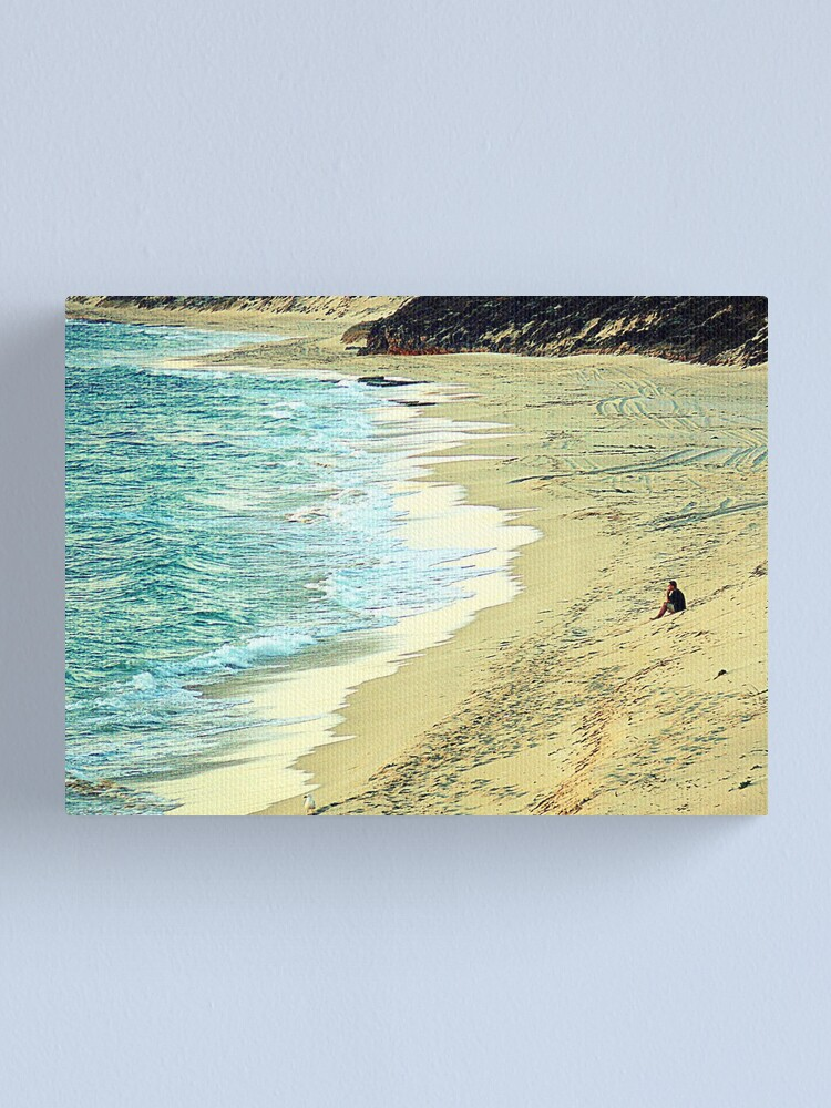 Alternate view of Only the Lonely.... Canvas Print