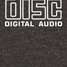Compact Disc Digital Audio (White) by thomasesmith