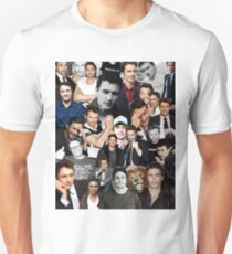 James Franco Collage Slim Fit T-Shirt