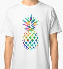 Rainbow Pineapple Classic T-Shirt