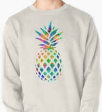 Rainbow Pineapple Pullover Sweatshirt
