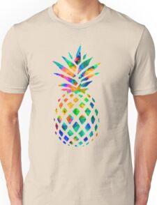 Rainbow Pineapple Unisex T-Shirt