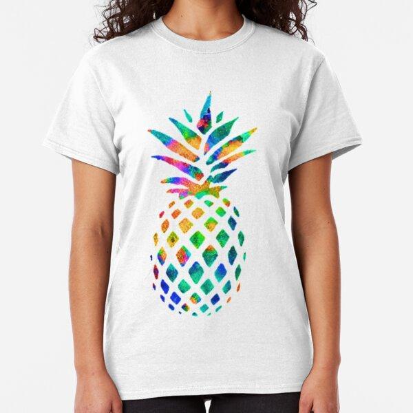 Rainbow Pineapple Classic T-Shirt