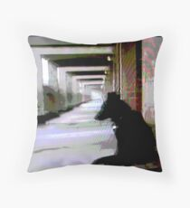 Ashfield Valley Dog Throw Pillow