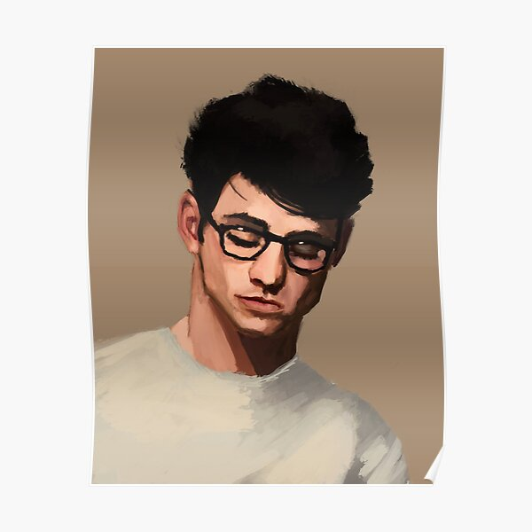 A guy in glasses Poster