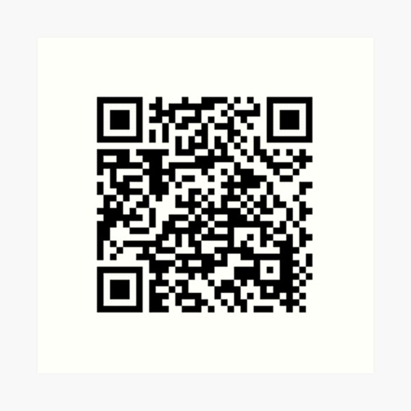 qr code for a free pdf of the communist manifesto by karl marx and friedrich engels Art Print