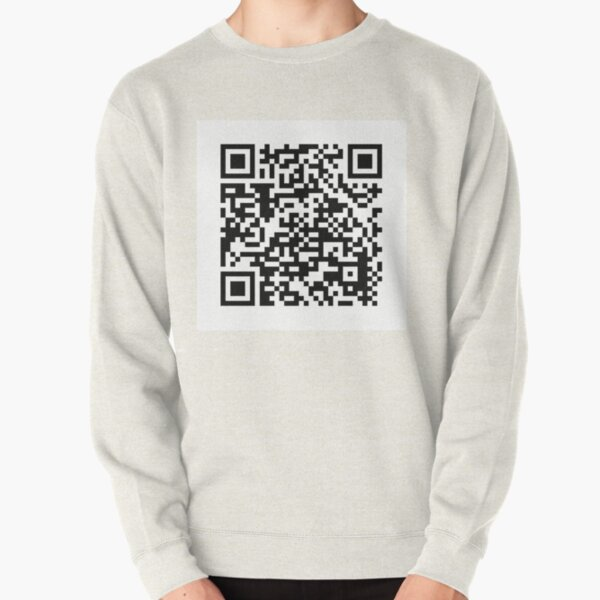 qr code for a free pdf of the communist manifesto by karl marx and friedrich engels Pullover Sweatshirt