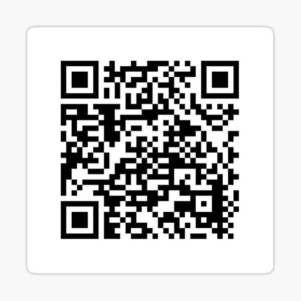 Código QR para un pdf gratuito del manifiesto comunista por Karl Marx y Friedrich Engels Pegatina