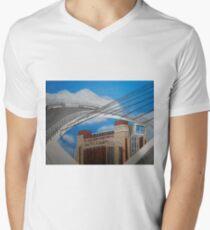 Die Ostsee T-Shirt mit V-Ausschnitt für Männer