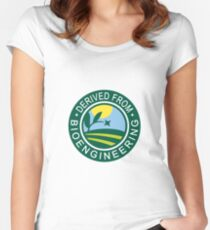 Derived from Bioengineering Women's Fitted Scoop T-Shirt