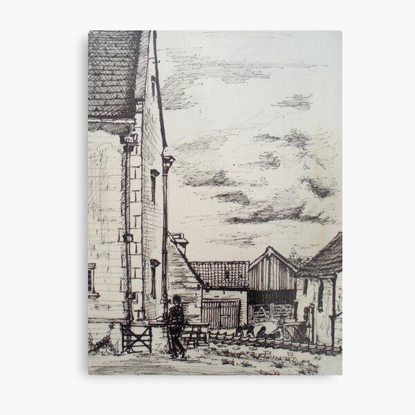 Woolsthorpe Manor Metal Print