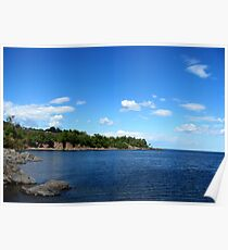 Duluth, MN: Land of Sky Blue Water Poster
