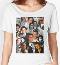 Johnny Depp Collage Women's Relaxed Fit T-Shirt