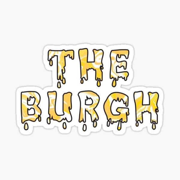 The Burgh Sticker