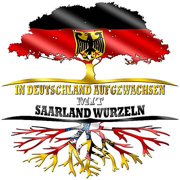 Saarland Shirt Federal State Germany by ExtremDesign