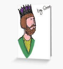 King Clement of Arith Greeting Card