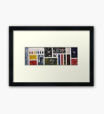 Society (2015) Framed Print
