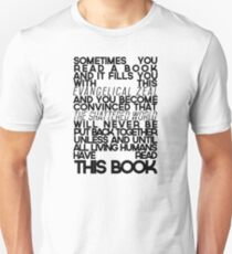 The Fault In Our Stars Quote Unisex T-Shirt