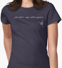 Perlas Ng Silangan (Dark Tee) Women's Fitted T-Shirt
