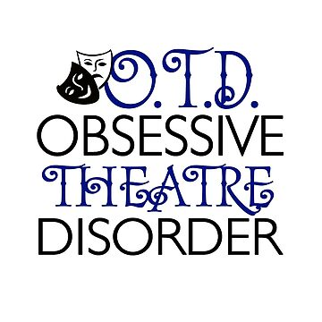 Theatre Broadway Lover Gift by KsuAnn
