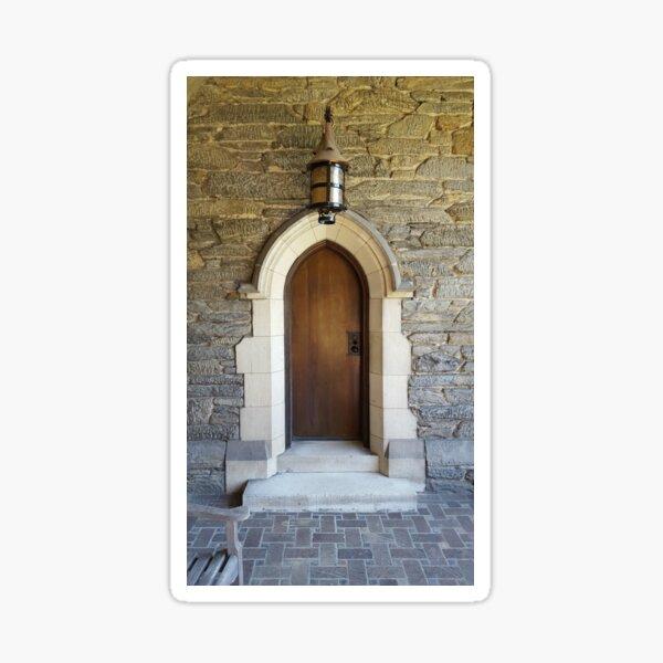 Cloister Door Sticker