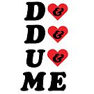 HEARTS! D&D&U&ME VALENTINE CARD! by voidmerch