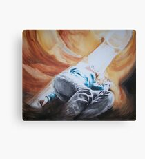 In the cavern Canvas Print