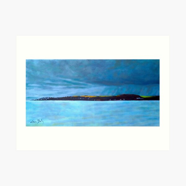 Ballycotton, Rain and Shine - Cork Art Print