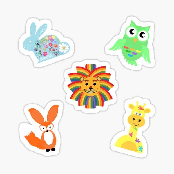 Cute animal sticker pack Sticker