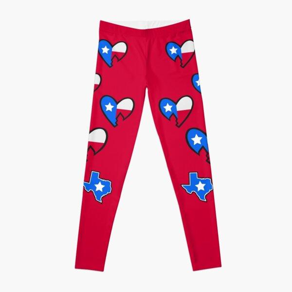 HBK USA Heart Leggings