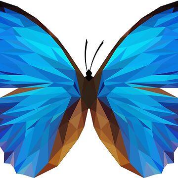 Butterfly - Low Poly by HeliumArtStudio
