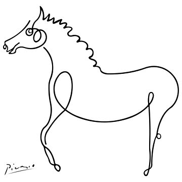 Pablo Picasso, Horse Artwork, Animals Sketch, Prints, Posters, Tshirts, Bags, Men, Women, Kids by clothorama
