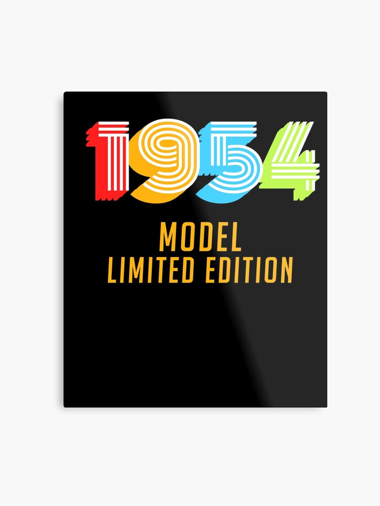 1954 Model Limited Edition Funny 65th Birthday Shirt For Men Or Women Sixty Fifth Gift Ideas