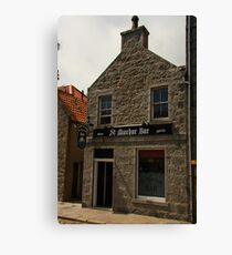 St Machar Bar in Old Aberdeen Canvas Print