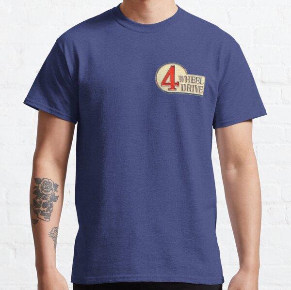 4WD Logo - Land Cruiser TEQ FJ40 Classic T-Shirt