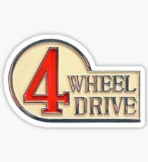 4WD Logo - Land Cruiser TEQ FJ40 Sticker