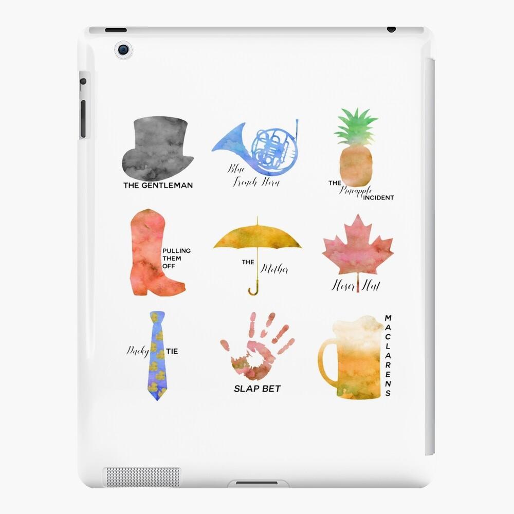 Simbolos HIMYM Funda y vinilo para iPad