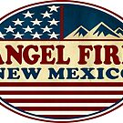 Ski Angel Fire New Mexico Skiing by MyHandmadeSigns