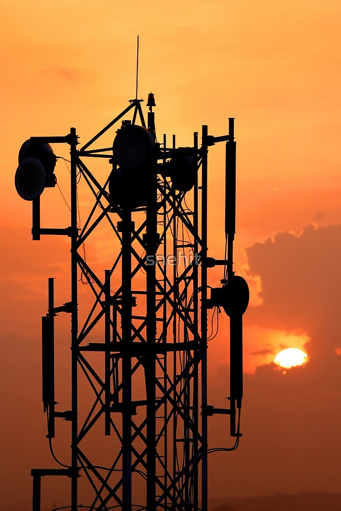 Communication Tower by snehit