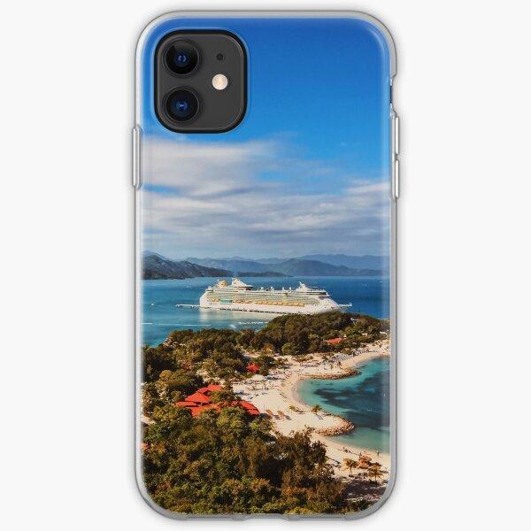 View of Labadee, Haiti iPhone Soft Case