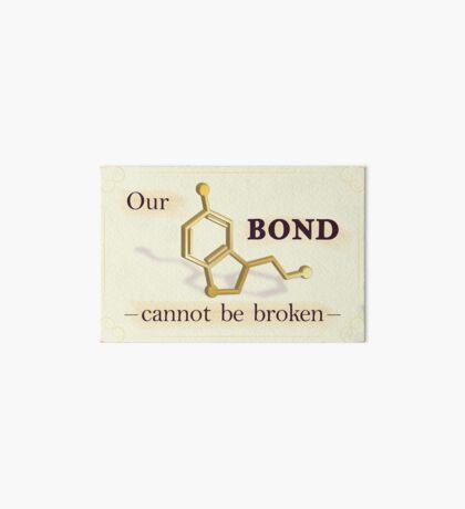Our Bond Cannot Be Broken - Gold Seratonin Art Board