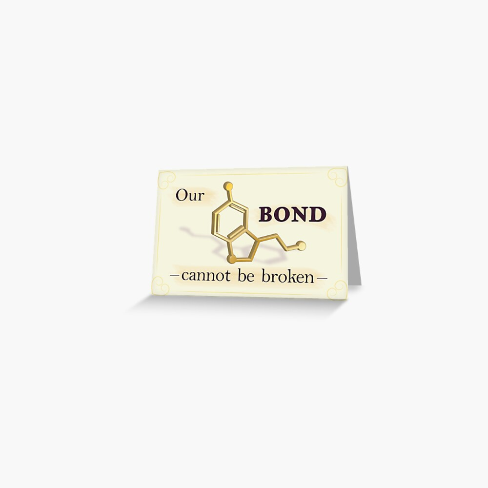 Our Bond Cannot Be Broken - Gold Seratonin Greeting Card