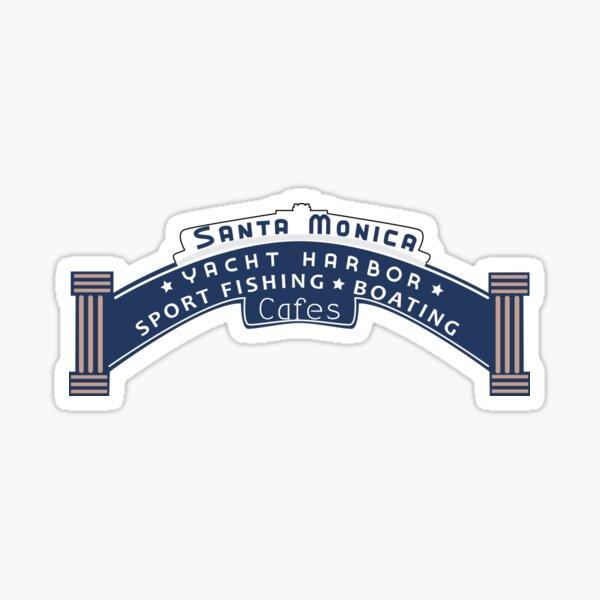 Santa Monica Yacht Harbor Sticker
