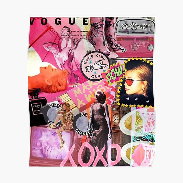 Vogue Collage Poster