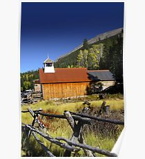Old church in Colorado Poster