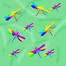 Lucky Dragonflies by Vitta