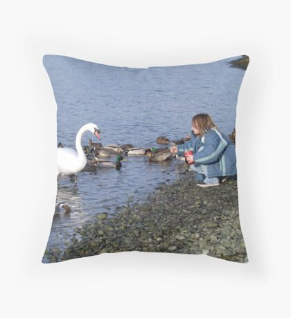 Mutual Trust Throw Pillow