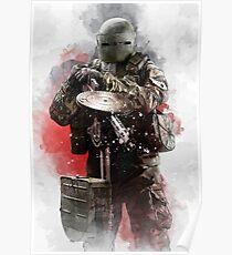 Rainbow Six Siege Tachanka Poster