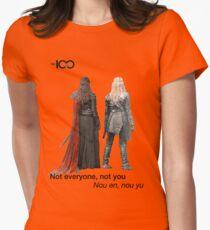 Clexa - Battle Maidens Womens Fitted T-Shirt